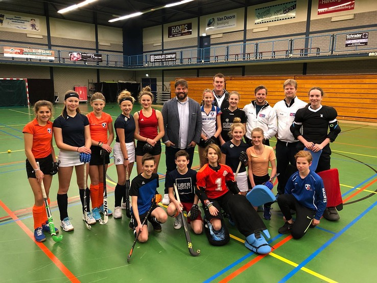 Max Caldas opent schooljaar 2018 op het Centre for Sports & Education - Foto: Eigen foto