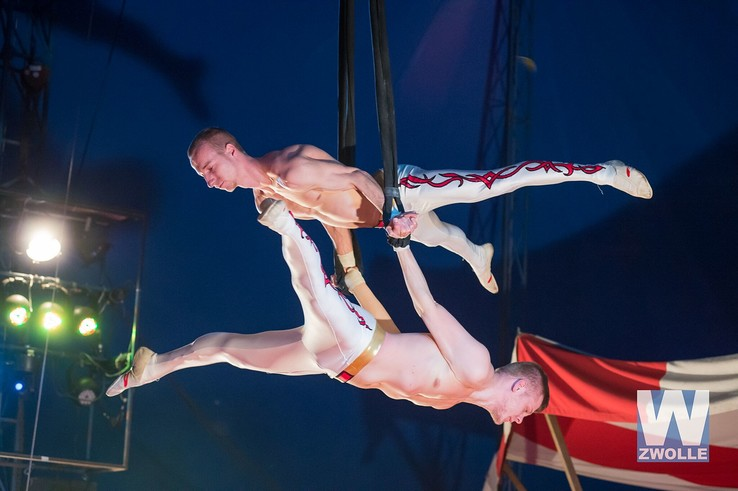Magic Circus op Zwolle tournee - Foto: Piet-Hein Out
