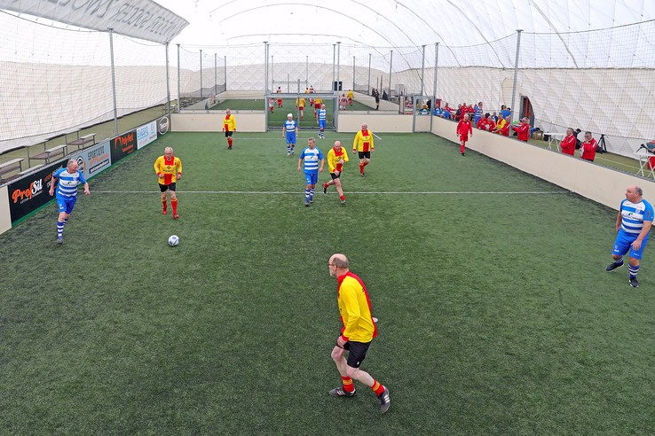 OldStars Walking Football in Zwolle-Zuid - Foto: Eigen foto