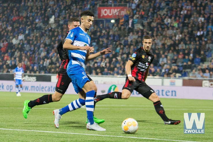 PEC Zwolle overtuigend langs Excelsior - Foto: Wouter Steenbergen
