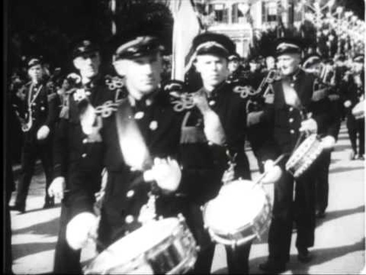 Koninginnedag 1945 in Zwolle