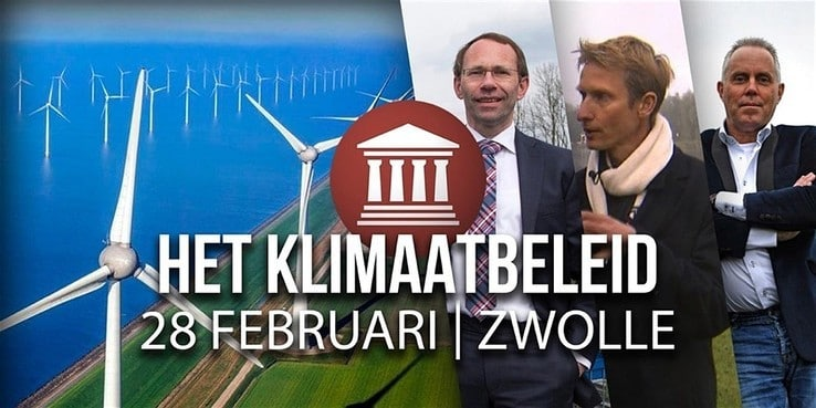 FvD-panel over klimaatbeleid in Agnietenberg Zwolle
