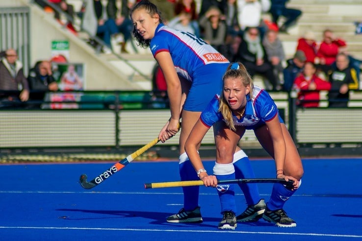 HC Zwolle Dames 1 verliest in Wageningen - Foto: Peter Denekamp